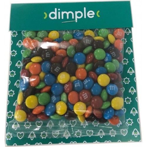 Printed Billboard Card with 50g M&Ms
