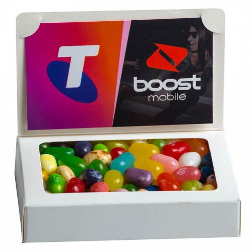 Bizcard Box with 50g Jelly Belly Jelly Beans bag